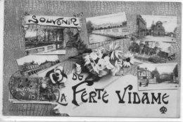 LA FERTE VIDAME  SOUVENIR    CARTE FANTAISIE - France