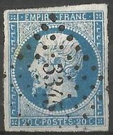 FRANCE - Oblitération Petits Chiffres LP 3345 THIBERVILLE (Eure) - Marcophilie (Timbres Détachés)