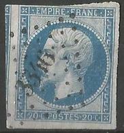 FRANCE - Oblitération Petits Chiffres LP 3346 THIEBLEMONT (Marne) - 1849-1876: Période Classique