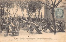 CHINA - Chinese Guns And Machine-guns Captured In 1901 Displayed In The Toulon Arsenal, France - Publ. Giraud 80. - China