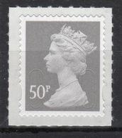 Great Britain 2009 Decimal Machin 50p Self Adhesive Définitive Stamp. - 1952-.... (Elizabeth II)