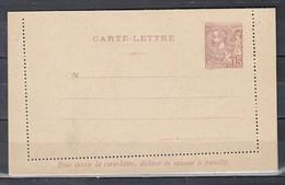 K7B Carte Lettre Principavte De Monaco (777) - Interi Postali