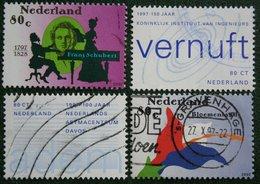 Vier Herdenkingen NVPH 1729-1732 (Mi 1625-1628); 1997 Gestempeld / USED NEDERLAND / NIEDERLANDE - 1980-... (Beatrix)