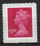 Great Britain 2009 Decimal Machin £1 Self Adhesive Définitive Stamp. - 1952-.... (Elizabeth II)