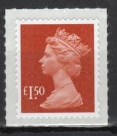 Great Britain 2009 Decimal Machin £1.50 Self Adhesive Définitive Stamp. - 1952-.... (Elizabeth II)