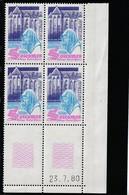 Coin Daté 2112 ** 23/7/80 - Esquina Con Fecha