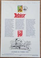 COLLECTION HISTORIQUE - YT N°3225 - JOURNEE DU TIMBRE / ASTERIX - 1999 - FDC