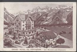 """LES BOSSONS """"74"""" __GRAND HOTEL DU PANORAMA ,LES BOSSONS PRES CHAMONIX - Autres Communes"""