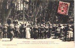 FR66 PERPIGNAN - Labouche - Fête Du Centenaire Des Platanes Le 5 Juin 1910 - La Cantate - Animée - Belle - Betogingen