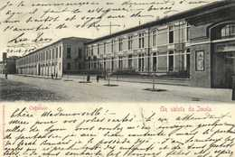 Un Saluta Da Imola Ospedale RV Beau Timbre Cachet - Bologna