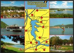 D2029 - TOP Landkarte Talsperre Pöhl - Verlag Bild Und Heimat Reichenbach Qualitätskarte - Vogtland
