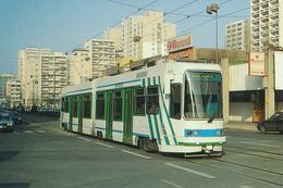 Saint Etienne (42) Motrice Vevey-Alsthom Série 901 à 915 N°908 - Mars 1993 - Saint Etienne