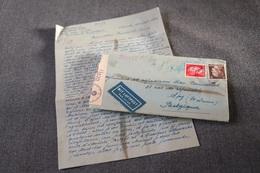Courrier De Prisonnier De Guerre,originale Avec Censure Militaire Allemand 1943 Pour Collection,militaria,historique - 1939-45