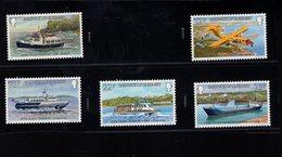 905909929 1981  SCOTT  227 231 POSTFRIS MINT NEVER HINGED EINWANDFREI (XX) INTERISLAND TRANSPORTATION - Guernesey