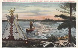 Hiawatha , SAULT STE. MARIE , Ontario , Canada , 1936 - Native Americans