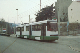 Saint Etienne (42) Motrice Type PCC Double (Ex. Série 551 -  555) N°001 - Mars 1993 - Tramways