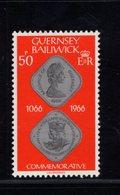 905912188 1980  SCOTT  201 POSTFRIS MINT NEVER HINGED EINWANDFREI (XX) BATTLE OF HASTINGS - Guernesey