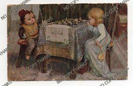 1933 - Illustratore - Bertiglia - Gioco Schacchi Chess - Storia Postale Regno Banca - Pieghina Ved Foto Grazie - Bertiglia, A.
