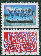 Jongerentrend NVPH 1733-1734 (Mi 1629-1630); 1997 Gestempeld / Used NEDERLAND / NIEDERLANDE - 1980-... (Beatrix)