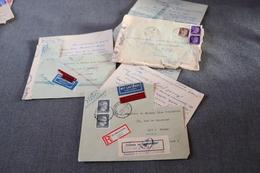 Lot De 3 Courriers De Prisonnier De Guerre,originale Avec Censure Militaire Allemand 1943,historique - 1939-45
