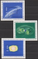 DDR 1964 MiNr.1081 - 1083 Block 20 - Block 22 ** Postfr. Intern. Jahr Der Ruhigen Sonne (A1662 ) Günstige Versandkosten - Bloques