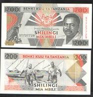 TANZANIA  200   1993  UNC! - Tanzanie