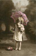 Enfants .20911 . Jeune Fille . Parapluie . A B M Paris 313 . - Collections, Lots & Series