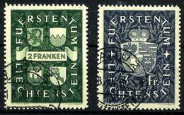 Liechtenstein Nº 159/60 Usados. Cat.75€ - Used Stamps