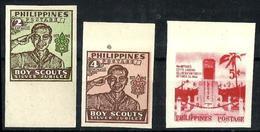 Filipinas 3 Sellos Nuevos. Cat.10€ - Filipinas