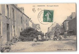 CPA 56 Kerhostin Boulangerie Gouzerh - Francia