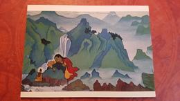 "Nicholas Roerich - ""Padmasambhava""   - Old USSR PC 1990 Rare Edition - Tibet, Himalaya - Tibet"