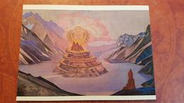 """Nicholas Roerich - """"Nagardjuna""""   - Old USSR PC 1990 Rare Edition - Tibet, Himalaya - Tibet"""