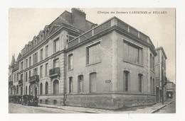 51 REIMS - Clinique Des Docteurs Lardenois Et Billard - Rue Kellermann - Animé - Cpa Marne - Reims
