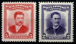 Filipinas Nº 399/400 En Nuevo Cat.6€ - Filipinas