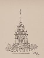Perron De Liège Les Négociants De Vins à L'exposition De 1905 - Architecture