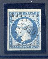 France N°10 Oblitéré - Un Voisin En Haut - Cote 45€ - (F534) - 1852 Louis-Napoléon
