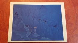 "Nicholas Roerich - ""Destroying The Dark""   - Old USSR PC 1990 Rare Edition - Tibet, Himalaya - Tibet"