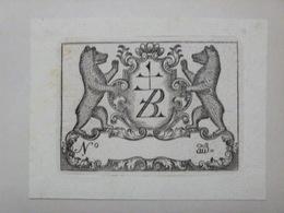 Ex-libris Illustré Fin XVIIIème - ZUBERBÜHLER Appenzell - Ex Libris