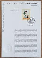 FDC Sur Document - YT N°3370 - FETE DU TIMBRE / GASTON LAGAFFE - 2001 - FDC