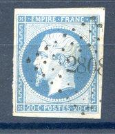 France N°14 OBL - PC 2808 (Sarrable) - (F513) - 1853-1860 Napoleon III