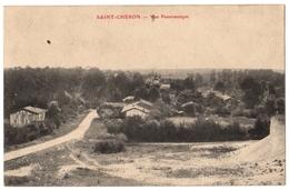 51 SAINT CHERON - Vue Panoramique - Entrée Du Village - Cpa Marne - Non Classés