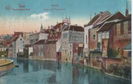 Gent - Gand - Tonnemakers Kaai - Quai Des Tonneliers - LUX Sér. 100 1 - 1921 - Gent