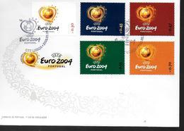PORTUGAL   FDC  Euro 2004 Football Soccer Fussball - Europees Kampioenschap (UEFA)