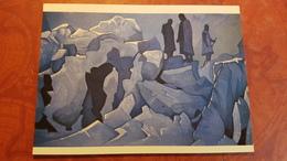 "Nicholas Roerich - ""Himalaya Guards""   - Old USSR PC 1990 Rare Edition - Tibet - Tibet"