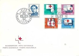 SVIZZERA - 1 6 1063 FDC CROCE ROSSA - Croce Rossa