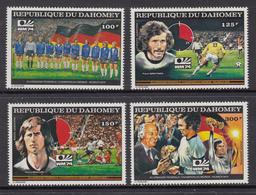 Dahomey MNH Michel Nr 605/08 From 1974 / Catw 8.50 EUR - Benin - Dahomey (1960-...)
