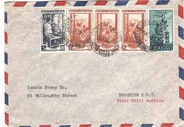 POSTA AEREA X U.S.A. - 1946-60: Marcophilia