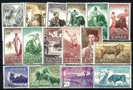 España Nº 1254/69 Nuevos. - Unused Stamps