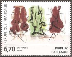 France - 1995 - Kirkeby - YT 2969 Neuf Sans Charnière - MNH - France