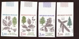 FRANCE - Non Dentelé Neuf ** MNH Luxe Série Complète N°2384 à 2387 Cote 120€ 1985 Flore Et Faune - France